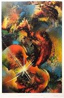 Sound of Color: Mozart Limited Edition Print by Leonardo Nierman - 2