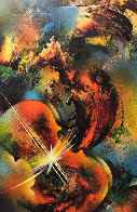 Sound of Color: Mozart Limited Edition Print by Leonardo Nierman - 0
