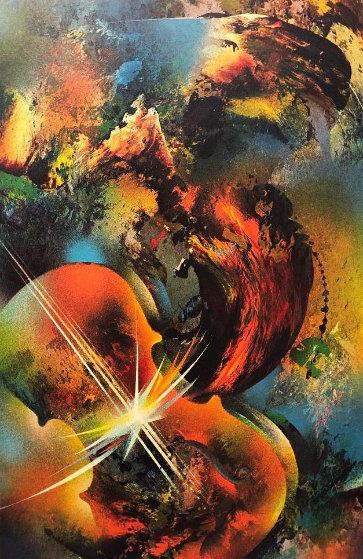 Sound of Color: Mozart Limited Edition Print by Leonardo Nierman