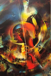 Sound of Color: Debussy  Limited Edition Print - Leonardo Nierman