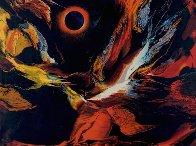Poems of Fire I AP Limited Edition Print by Leonardo Nierman - 0