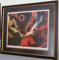 Poems of Fire I AP Limited Edition Print by Leonardo Nierman - 1