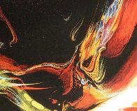 Poems of Fire I AP Limited Edition Print by Leonardo Nierman - 2