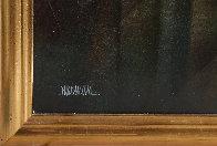 Ciudad Prismatica 51x39 Super Hige Original Painting by Leonardo Nierman - 2