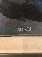 Untitled Painting 21x17 Original Painting by Leonardo Nierman - 2