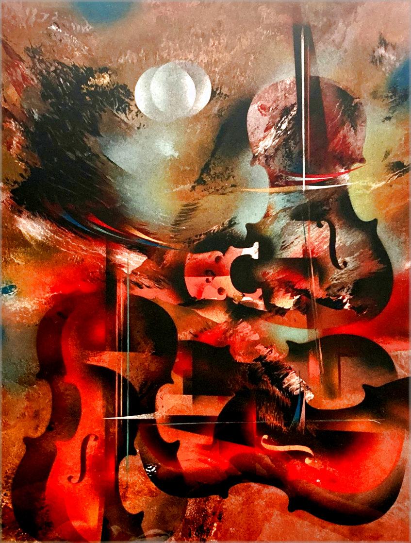 Sonata Limited Edition Print by Leonardo Nierman