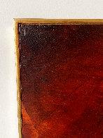 Birth of Fire 1977 32x40 Original Painting by Leonardo Nierman - 5