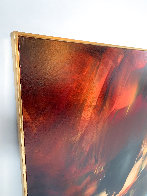 Birth of Fire 1977 32x40 Original Painting by Leonardo Nierman - 3