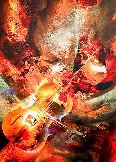 Sound of Color: Mahler 1976 Limited Edition Print - Leonardo Nierman