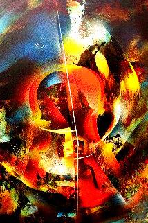 Sound of Color: Debussy 1976 Limited Edition Print - Leonardo Nierman