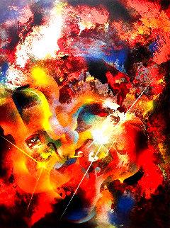 Sound of Color: Stravinsky 1976 Limited Edition Print - Leonardo Nierman