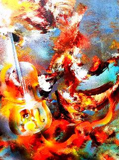 Sound of Color: Bach 1976 Limited Edition Print - Leonardo Nierman