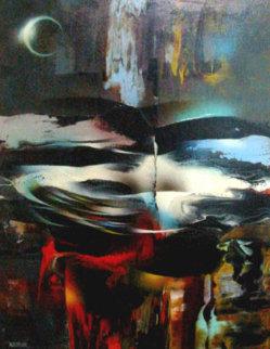 Winds of Springtime 32x24 Original Painting by Leonardo Nierman