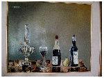 Still Life 1965 (Very Rare!) 19x23 Original Painting - Leonardo Nierman