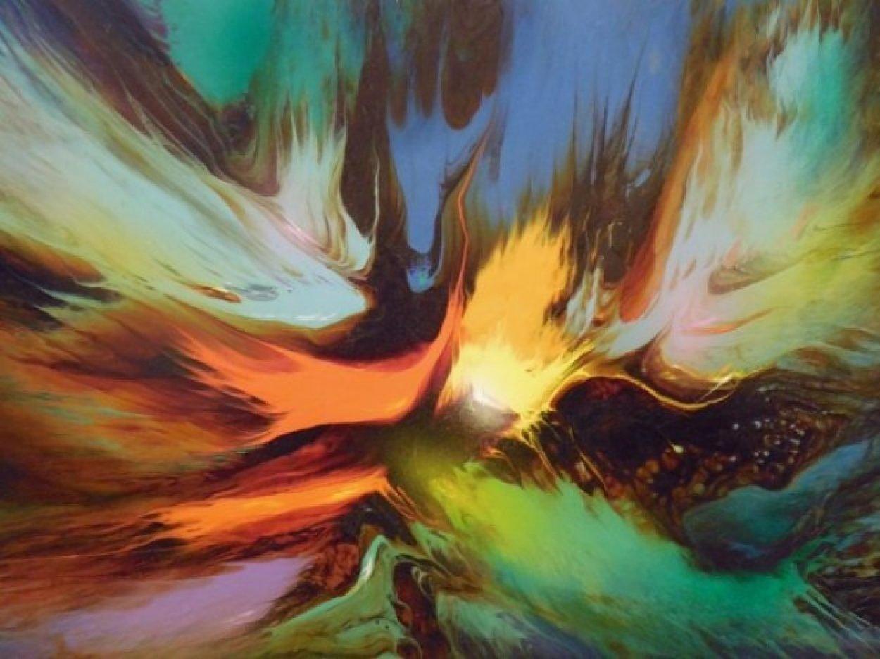 Genesis 24x32 Huge Original Painting by Leonardo Nierman