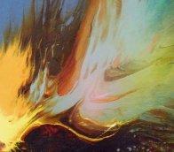Genesis 24x32 Huge Original Painting by Leonardo Nierman - 2