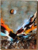 Bird of Paradise 39x31 Original Painting by Leonardo Nierman - 1