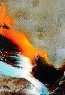 Bird of Paradise 39x31 Original Painting by Leonardo Nierman - 4