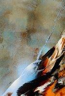 Bird of Paradise 39x31 Original Painting by Leonardo Nierman - 5