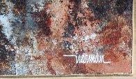 Bird of Paradise 39x31 Original Painting by Leonardo Nierman - 6