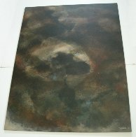 Untitled Early Painting 1961  (Early) 31x23 Original Painting by Leonardo Nierman - 4