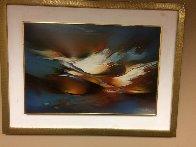Springtime 1990 30x20 Original Painting by Leonardo Nierman - 1