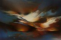Springtime 1990 30x20 Original Painting by Leonardo Nierman - 0