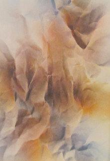 Erosion Watercolor 1979 19x25 Watercolor by Leonardo Nierman