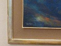 Storm At Sea 1968 39x31 Huge Original Painting by Leonardo Nierman - 2