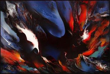 Genesis 48x72 Original Painting - Leonardo Nierman