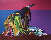Prayer For the Return of the Buffalo 1998 Limited Edition Print by John Nieto - 0