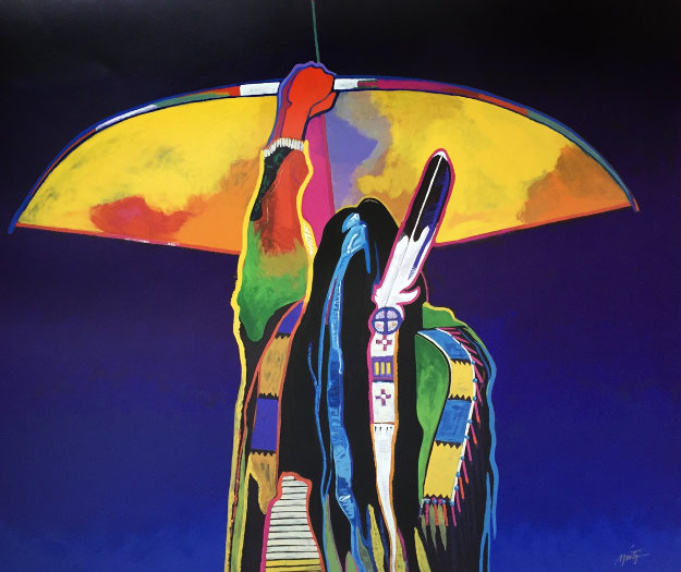 Whirlwind Soldier 1995 Limited Edition Print by John Nieto