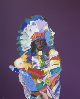 Chief HC 1996 Limited Edition Print by John Nieto