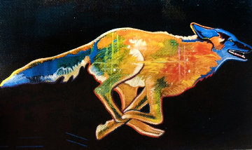 Wolf AP 2002 Limited Edition Print by John Nieto