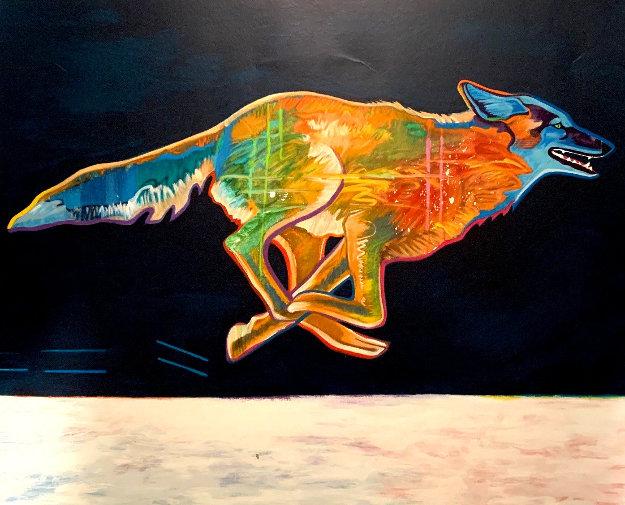 Wolf 2002 Limited Edition Print by John Nieto