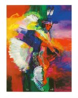Fancy Dancer I and II, Set of 2 Giclees 2008 Limited Edition Print by John Nieto - 1