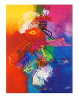 Fancy Dancer I and II, Set of 2 Giclees 2008 Limited Edition Print by John Nieto - 2
