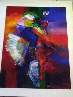 Fancy Dancer I and II, Set of 2 Giclees 2008 Limited Edition Print by John Nieto - 5