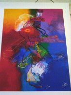 Fancy Dancer I and II, Set of 2 Giclees 2008 Limited Edition Print by John Nieto - 6