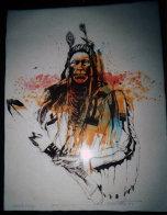 Crow Warrior 1977 Limited Edition Print by John Nieto - 1