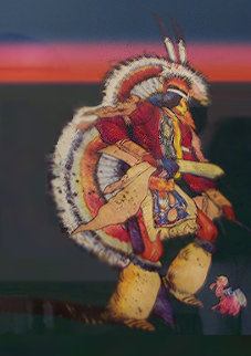 Untitled Indian Dancer Limited Edition Print by John Nieto