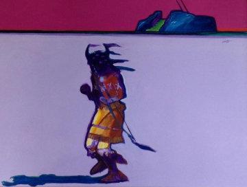 Eagle Dancer 1984 30x40 Original Painting by John Nieto