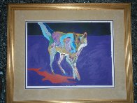Wolf on the Prowl Limited Edition Print by John Nieto - 1