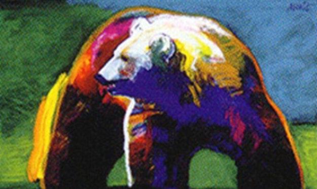 Stronger (Bear) 2002 Limited Edition Print by John Nieto