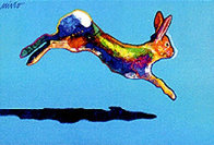 Swifter (Rabbit) 2002 Limited Edition Print by John Nieto - 0