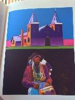 Les Livres Des Peintres Book 1996 with 6 prints Limited Edition Print by John Nieto - 27