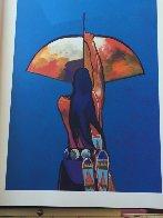 Les Livres Des Peintres Book 1996 with 6 prints Limited Edition Print by John Nieto - 3