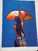 Les Livres Des Peintres Book 1996 with 6 prints Limited Edition Print by John Nieto - 29