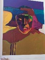 Les Livres Des Peintres Book 1996 with 6 prints Limited Edition Print by John Nieto - 28