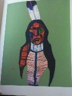 Les Livres Des Peintres Book 1996 with 6 prints Limited Edition Print by John Nieto - 18